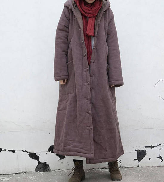 coat loose robe