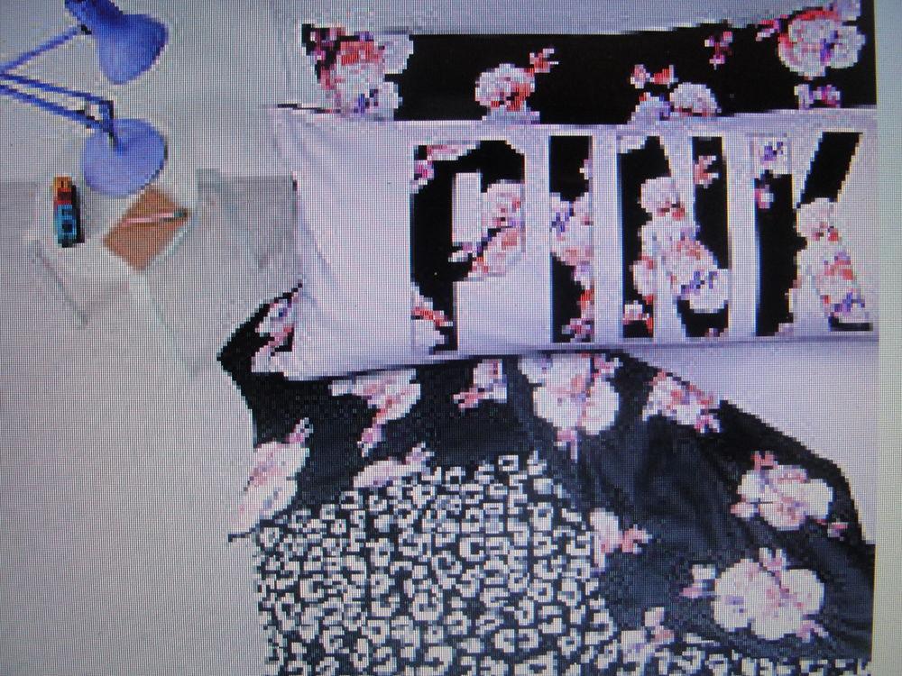 Victorias Secret PINK Floral Leopard Comforter,Sheets Set