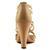 Michael Michael Kors Berkley T Strap Beige Femmes Pompes