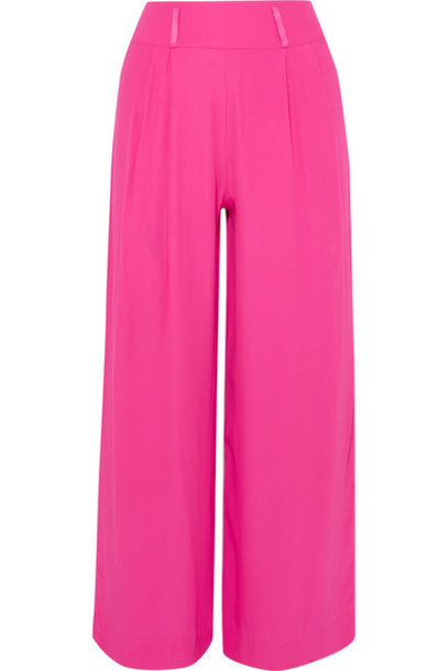 Staud pants wide-leg pants cropped
