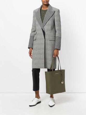 women bag tote bag green