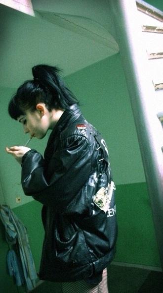 jacket grunge edgy punk