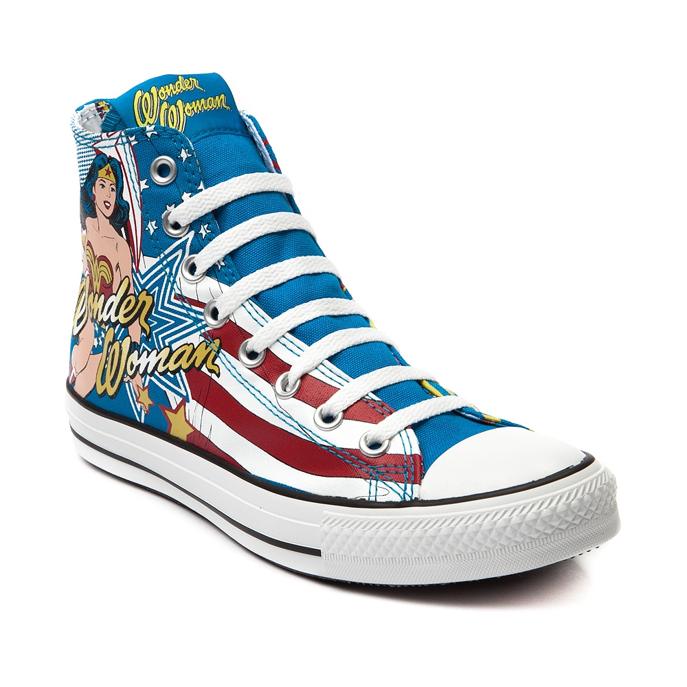 Converse all star hi wonder woman sneaker, wonder woman