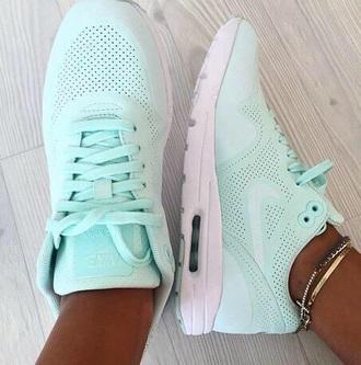 shoes air max mint hair accessory