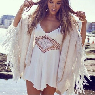 dress tumblr white cut-out jumpsuit