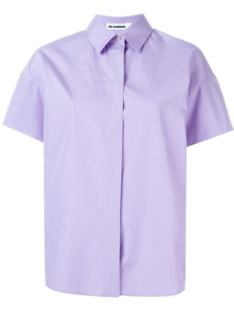 shirt purple pink top