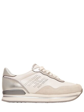suede sneakers sneakers leather suede white shoes