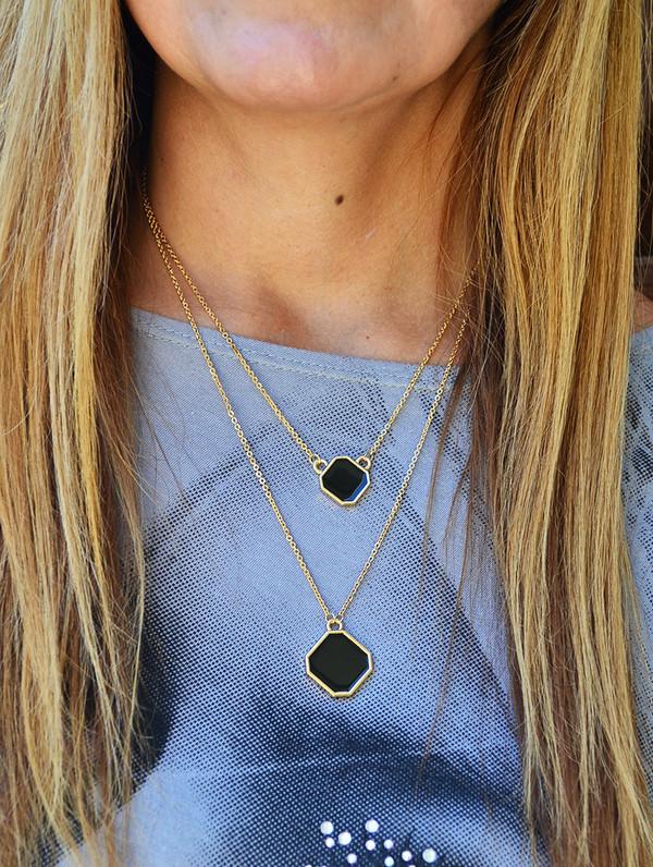 jewels boho boho chic bohemian layered necklace gold layered necklace