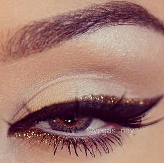 jewels eye girl women liner line eye line eye liener glitter gold shadow eye shadow