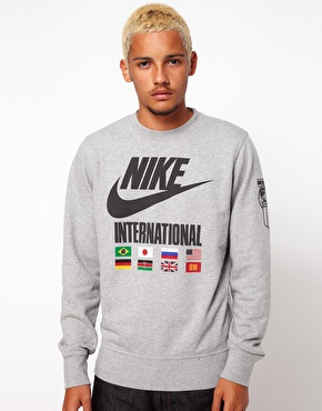 Nike | Nike Sweatshirt International Crew Neck at ASOS