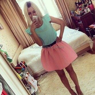 skirt pink skirt light pink light pink skirt