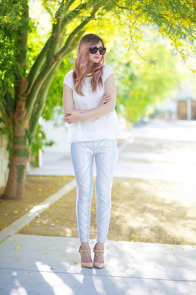 late afternoon t-shirt shoes bag jeans jewels