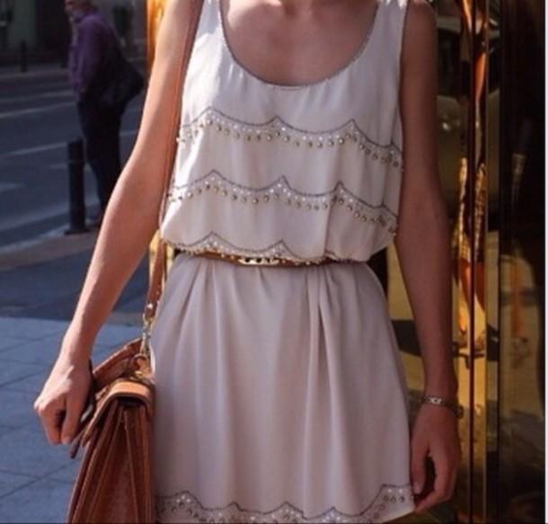 e9459e6ff1 tank top, white, beaded, skirt, bag - Wheretoget
