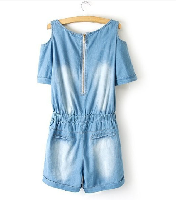 jumpsuit denim romper jeans