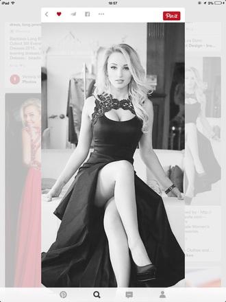 dress black dress sexy dress prom dress