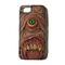 Teeth eyes monster print phone cover