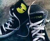 shoes,converse,wu-tang clan,sneakers,black,black shoes,kim kardashian,kanye west