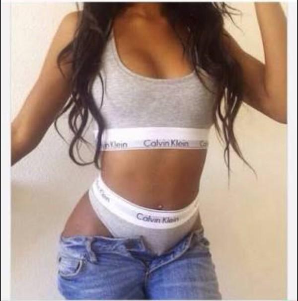 Calvin Klein Modern Cotton Logo Bikini F3787 Panties