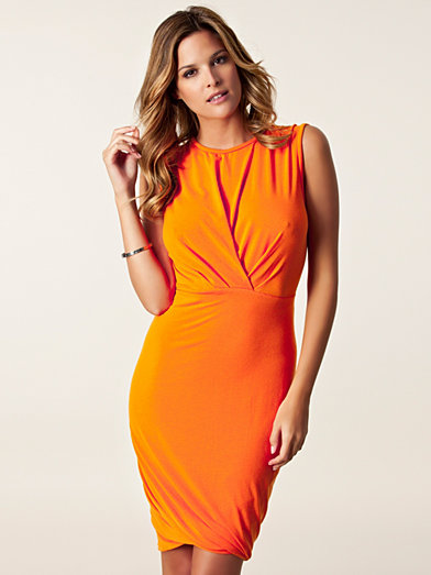 Elizao Dress - By Malene Birger - Yellow/Orange - Party Dresses - Clothing - Women - Nelly.com Uk