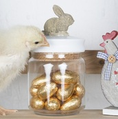 home accessory,bunny,trinket,jar,cute,home decor,Accessory,decoration,storage,easter,candy