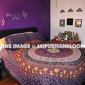 home accessory,purple duvet cover set,donna cover set,mandala duvet cover,indian duvet cover,cotton duvet cover,queen duvet cover,large duvet cover,dorm room duvet cover