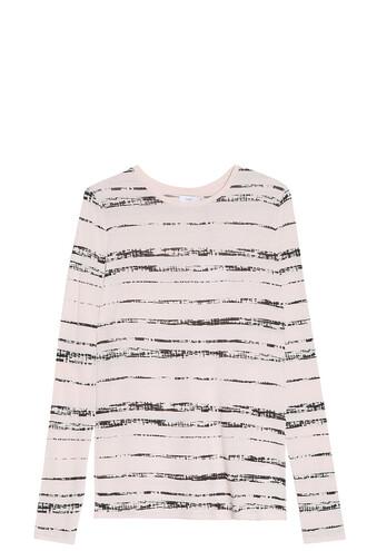 t-shirt shirt striped t-shirt white top