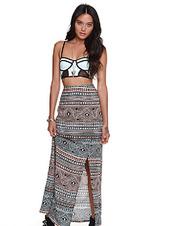 skirt,clothes,maxi,aztec,hippie,boho,maxi skirt,bohemian