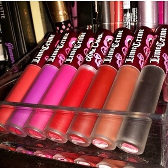 make-up lime crime lipstick lip gloss lips