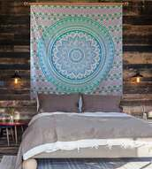 home accessory,hippie,tapestry,blue,green,aztec,boho,bohemian,boho decor,pretty,tribal pattern,jewels,indie,bedding,bedroom,boho bedding,mandala,mandala wall hanging,elephant,elephant print,wall decor,hippie wall hanging,wall paper,mandala fabric,cotton,tumblr,Handicrunch,colorful,home decor,homies,holiday home decor,home stickers,indian,indian bed spread,indian bedcover,print,printed tapestry,dorm decoration,dorm tapestry,dorm room,scarf,carpet,gypsy,hippy vibe,hipster vibe,urban,vintage,blanket,throw,throw blanket,psychedelic,psychedelic tapestries,stylish