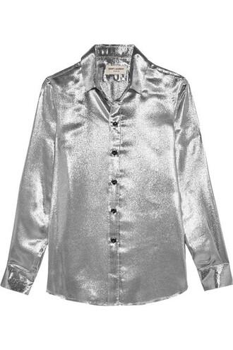 shirt silver