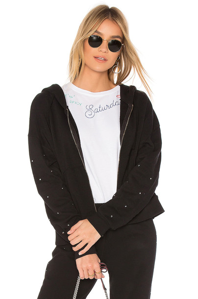Wildfox Couture hoodie black sweater
