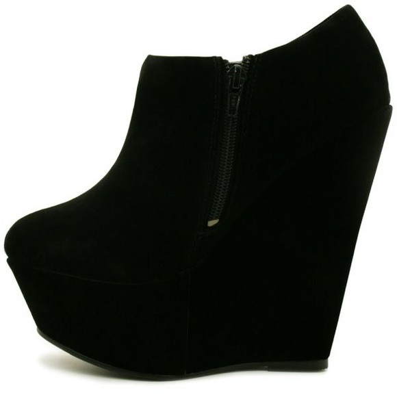 zip black suede ankle boots boots ankle suede suede boots black ankle boots wedge boots black wedges