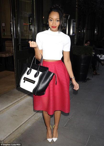 skirt celebrity leigh-anne pinnock