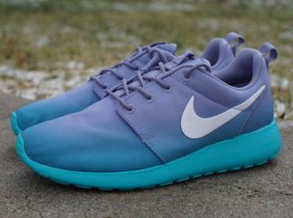 shoes blue shoes purple shoes