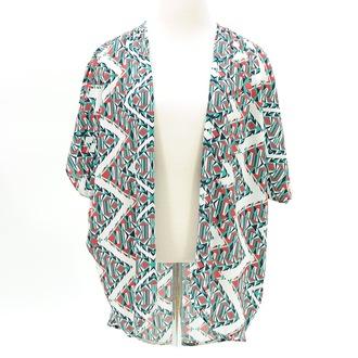 cardigan geometric kimono cardigan shrug black and white boho