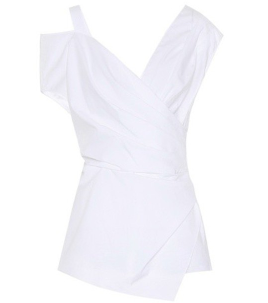 Altuzarra top cotton white