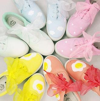 shoes cute kawaii kawaii dark cartoon hand painted painted canvas shoes harajuku japanese fashion