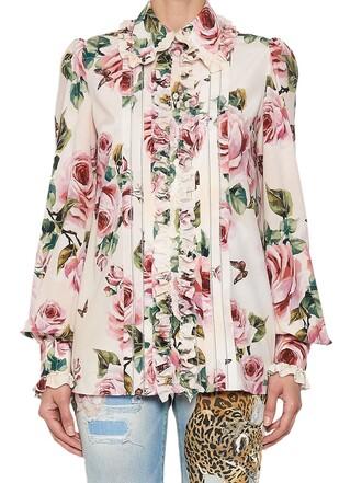 blouse multicolor top