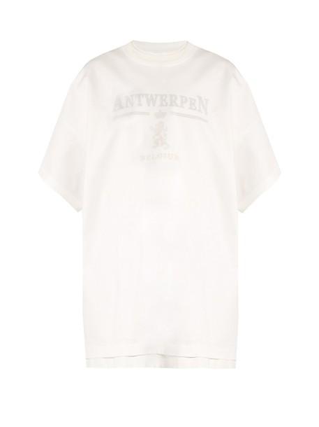 Vetements t-shirt shirt t-shirt oversized white top