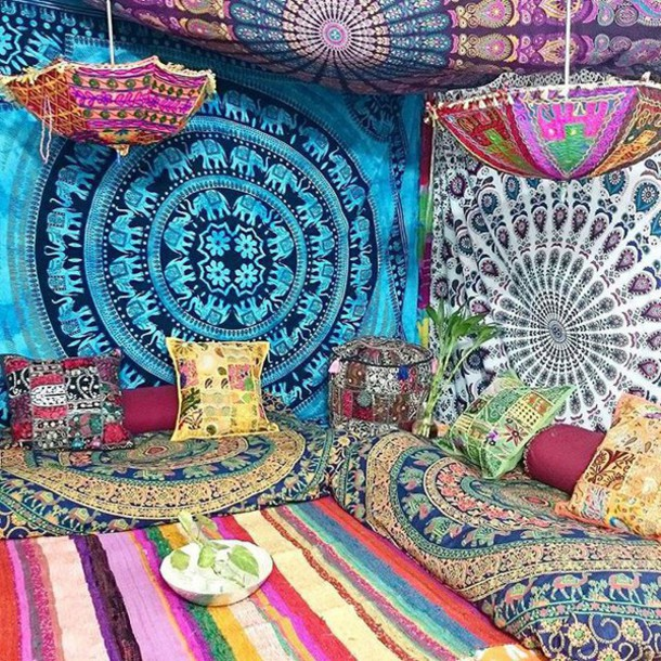 home accessory multimate collection bohemian tapestry