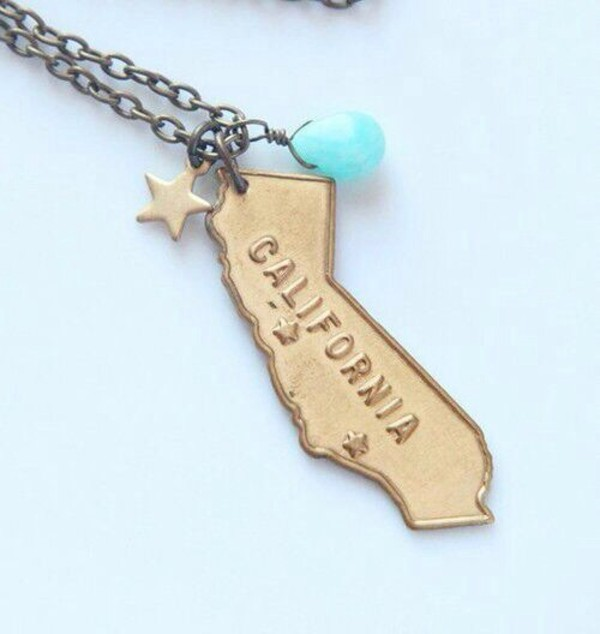 jewels california necklace