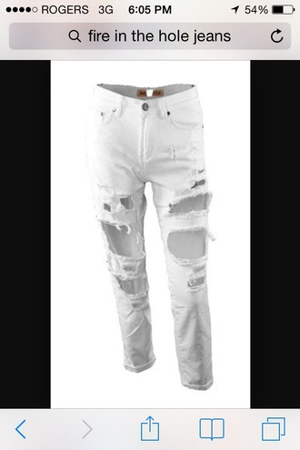 jeans white jeans style summer pants tight