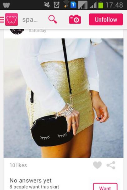 bag skirt