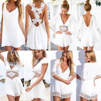dress womens dresses summer women playsuit womens jumpsuit 2 piece prom dress