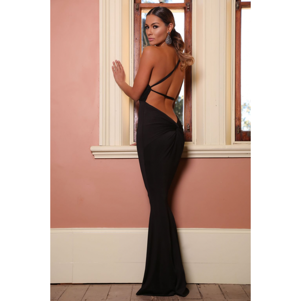 Black 'jadore' dress