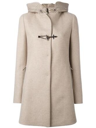 coat duffle coat women nude wool