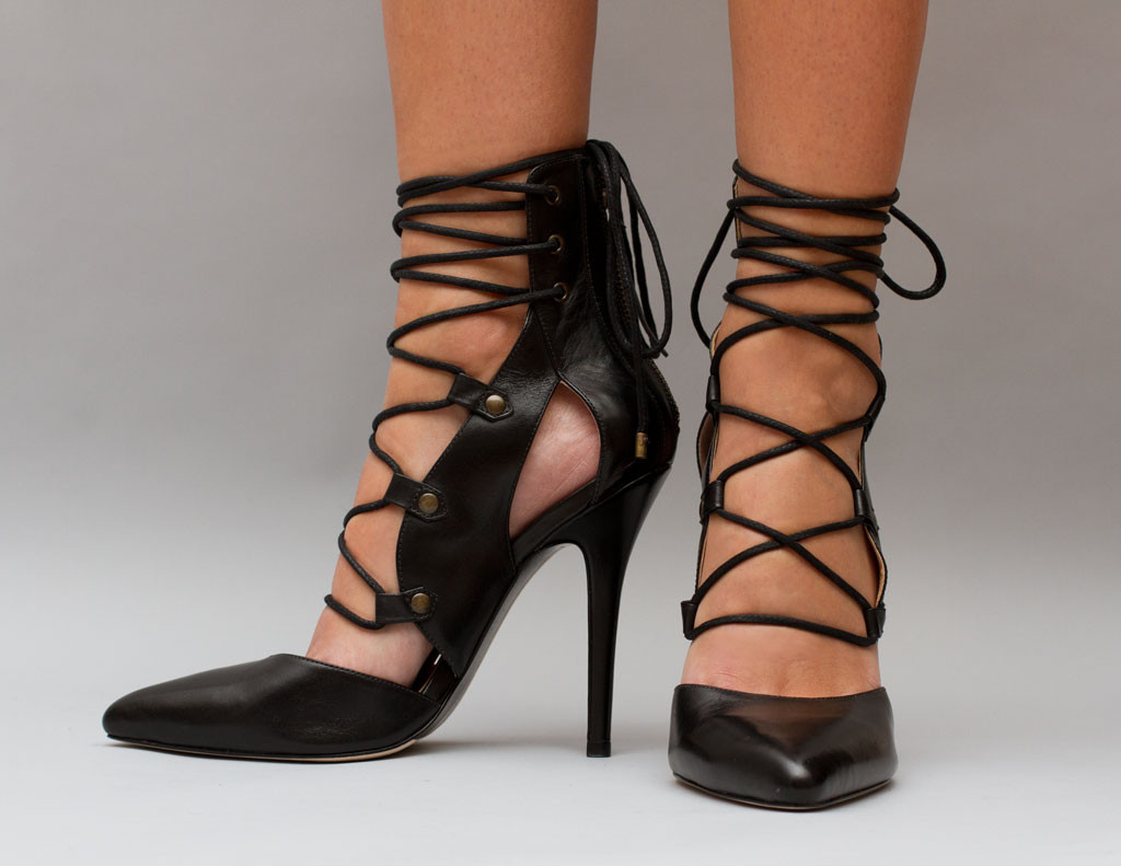 Daphnie Lace-up Heel