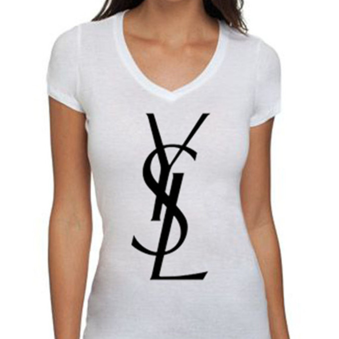 the best t shirt yves saint laurent wheretoget. Black Bedroom Furniture Sets. Home Design Ideas