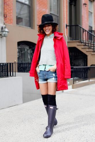 trop rouge t-shirt sweater shorts jacket shoes hat