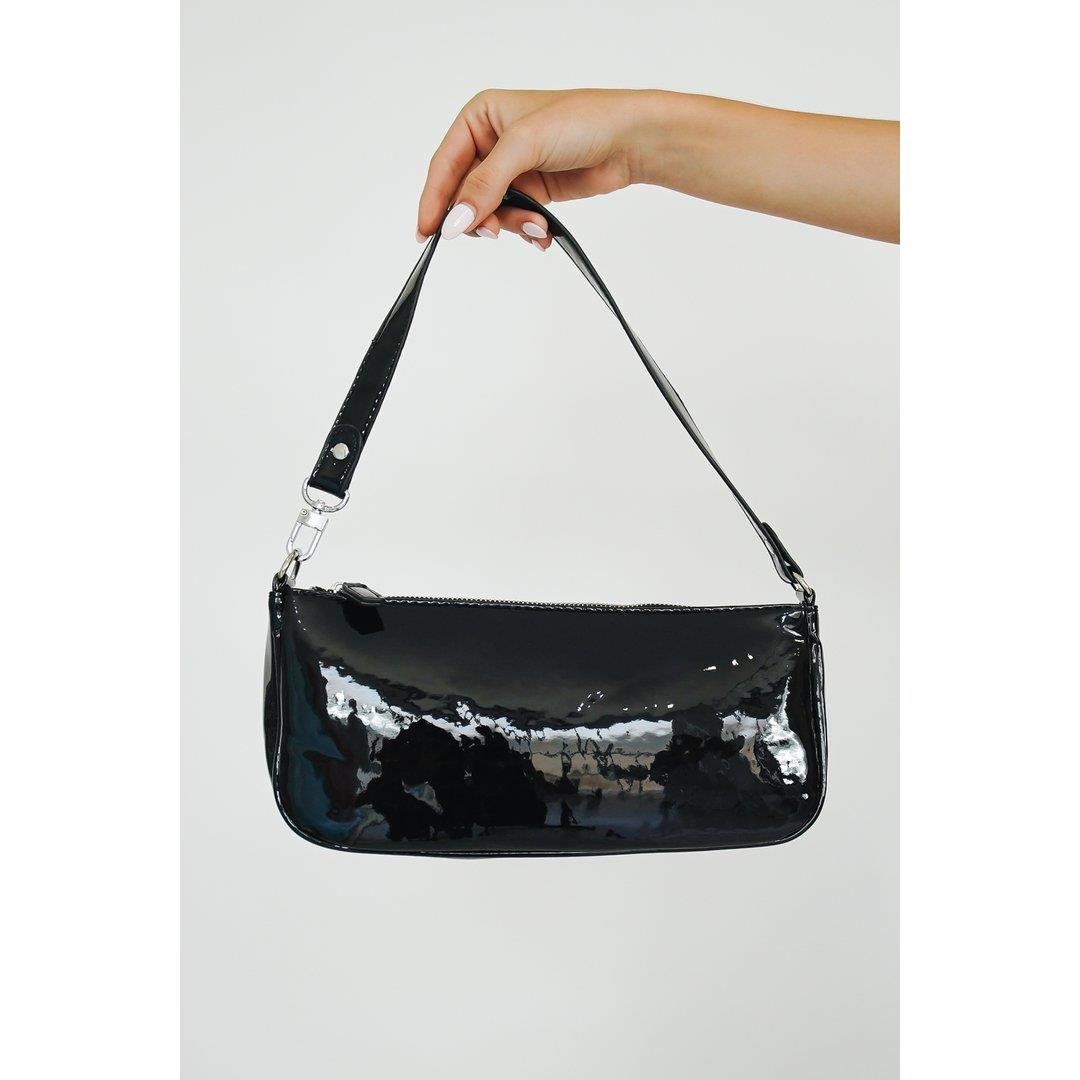 Exploring Italy Shoulder Bag // Black